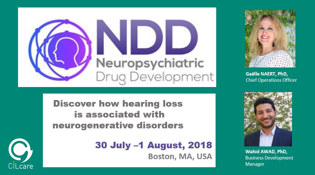 CILcare at NDD Summit on July 30 – August 1, 2018