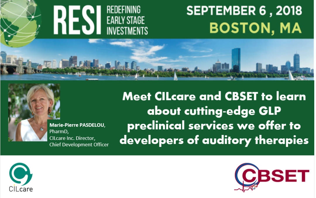 CILcare will be attending the RESI Boston Conference on September 6, 2018