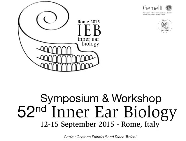 "CILcare Was At The ""Inner Ear Biology"" Congress In Rome"