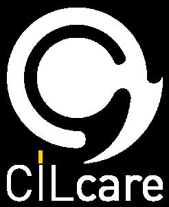 Logo CILcare BLANC