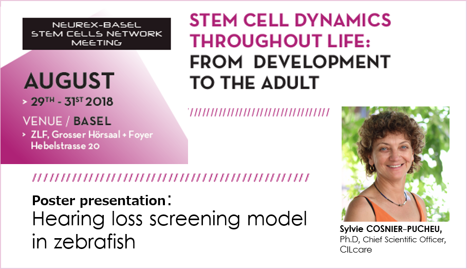 CILcare will be attending the Stem Cell Conference on August 29-31, 2018