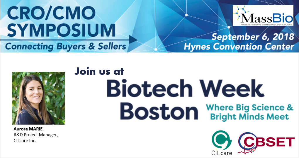 CILcare at MassBio's CRO/CMO Symposium on September 6, 2018