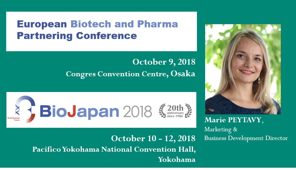 CILcare at BIO Japan 2018 on October 10 – 12, 2018