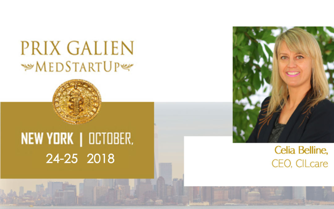CILcare at the Prix Galien Medstartup 2018 in New York