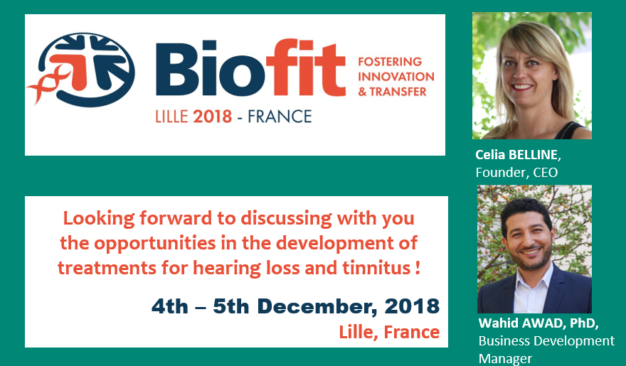 CILcare at the BioFIT on December 4-5, 2018 in Lille