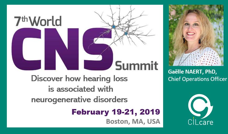 CILcare will attend the CNS Summit 2019 in Boston