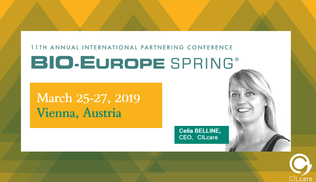 CILcare will be attending the BIO-Europe Spring on March 25-27, 2019 in Vienna