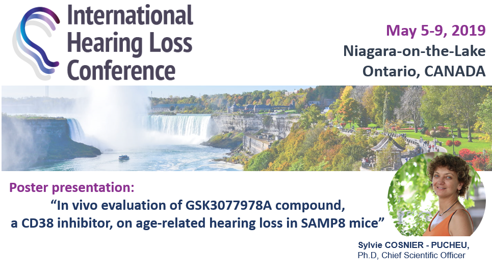 CILcare at the International Hearing Loss Conference on May 5-9, 2019 in Niagara-on-the-Lake