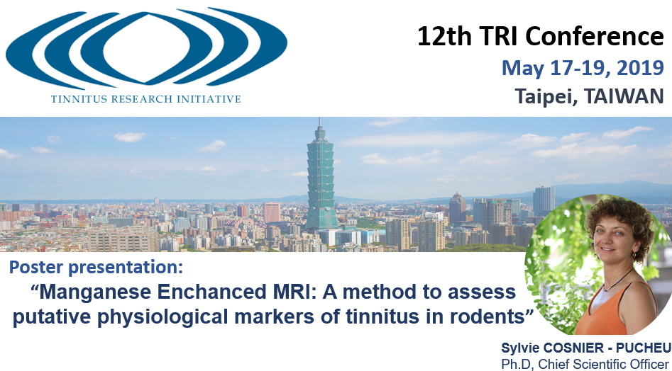 CILcare will attend Tinnitus Research Initiative Conference on May 17-19, 2019 in Taipei