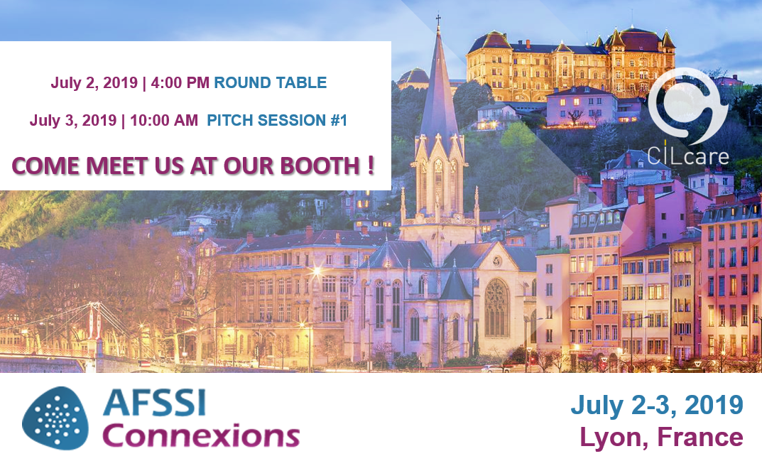 CILcare at the AFSSI Connexions on July 2-3,2019 in Lyon, France