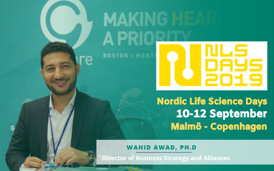 CILcare at the Nordic Life Science Days on September 10-12, 2019 in Malmö