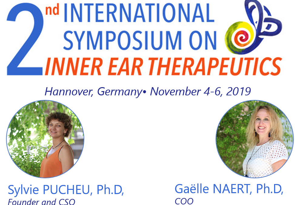 Meet CILcare at the 2nd International Symposium on Inner Ear Therapeutics on November 4-6, 2019 in Hannover