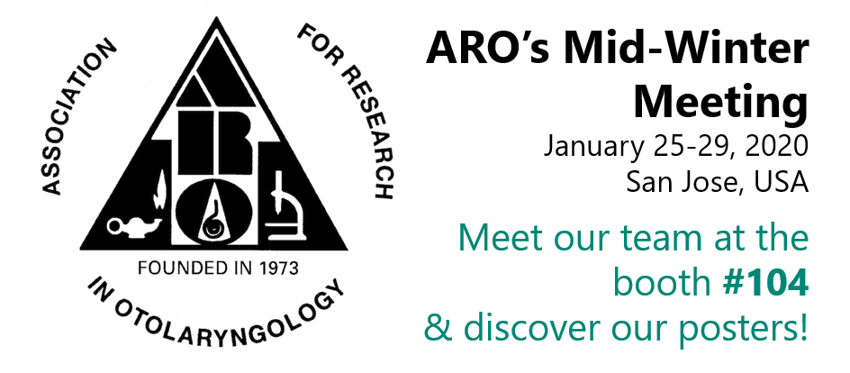 Meet CILcare at ARO Mid-Winter Meeting on January 25-29, 2020 in San Jose, USA