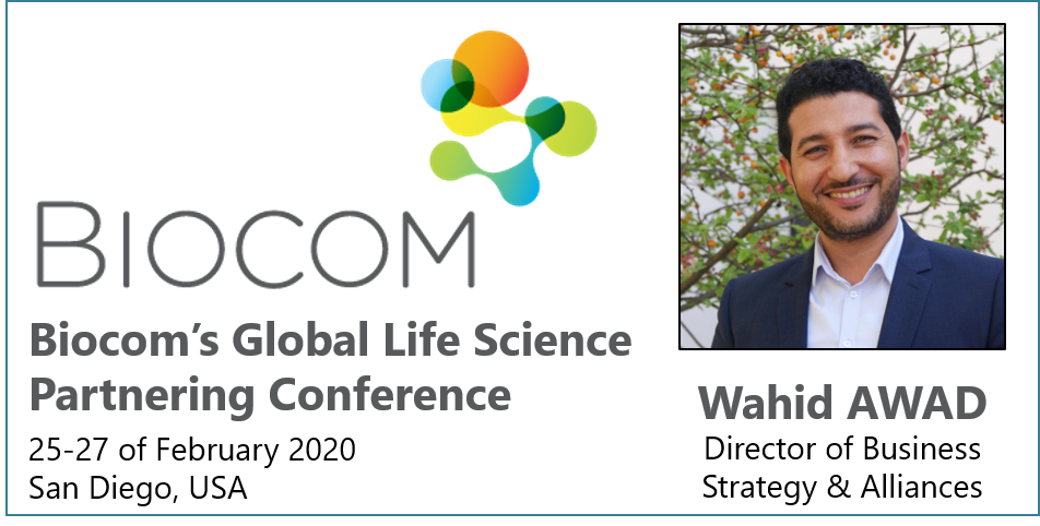 Meet CILcare at Biocom conference on February 25-27, 2020 in San Diego, USA