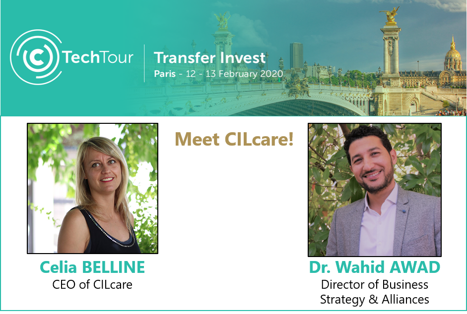 Meet CILcare at the Tech Tour Transfer Invest event on February 12-13 in Paris