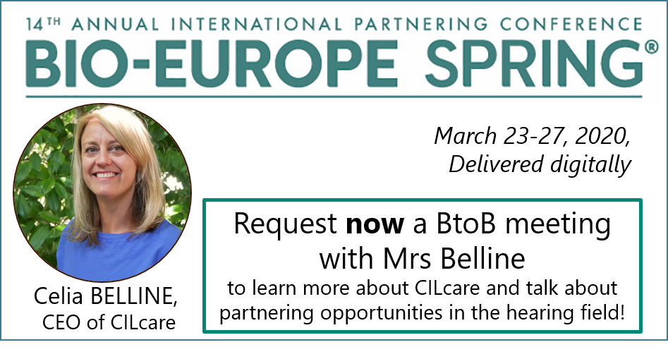 Meet digitally CILcare at BioEurope Spring conference on March 23-27, 2020