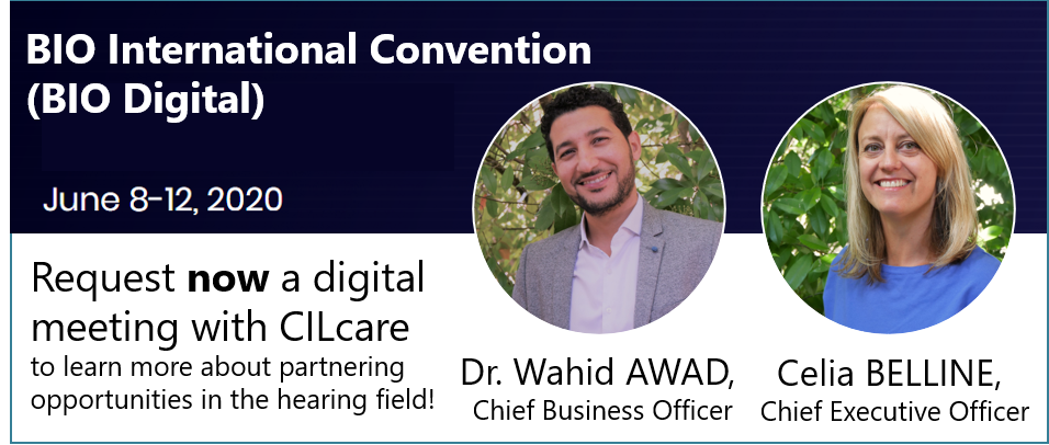 Meet CILcare at BIO International Convention on June 8-12, 2020 digitally