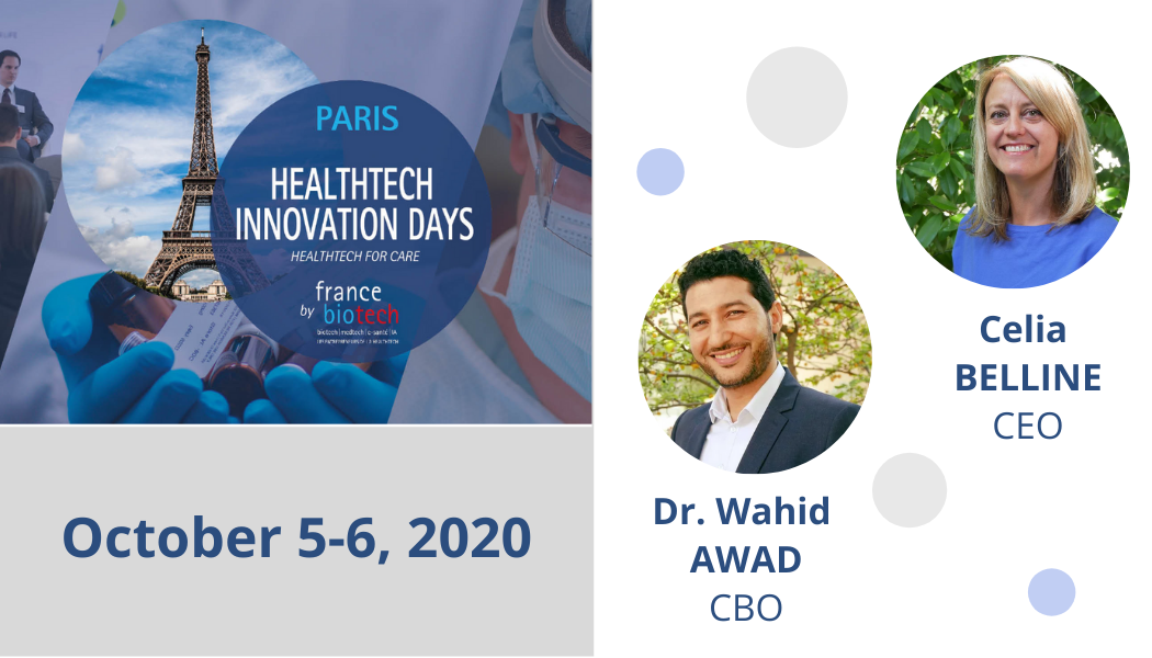 Meet CILcare at HealthTech Innovation Days on October 5-6, 2020 in Paris