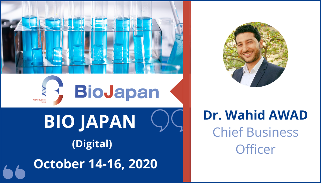 CILcare will attend BIO JAPAN Digital on October 14-16, 2020