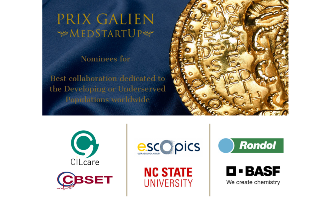 CILcare-CBSET nominated for the prestigious PRIX Galien Medstartup award